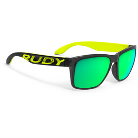 Rudy Project Spinhawk Loud Sonnenbrille crystal ash yellow fluo - rp optics multilaser lime